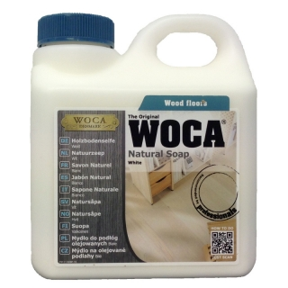 WOCA Holzbodenseife weiß - Natural Soap white 1 Liter