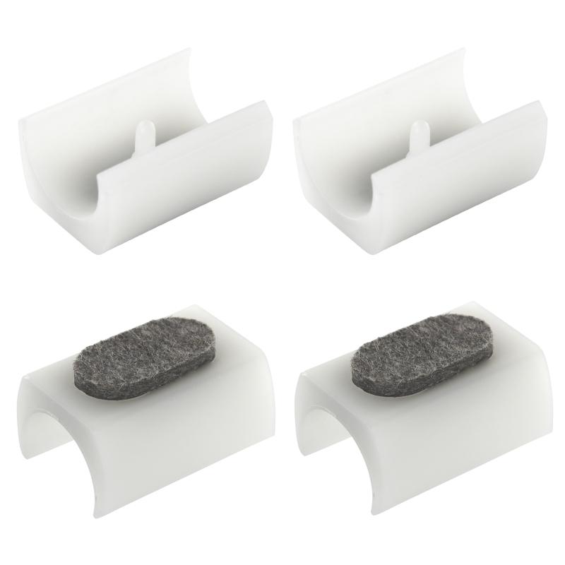 filzgleiter f r freischwinger lang 24mm 26mm wei reinigung pflege und. Black Bedroom Furniture Sets. Home Design Ideas